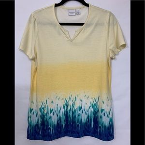 Chico's Women's Weekends T-Shirt Size 1 ( Small )